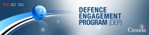 Government of Canada Department of National Defence - Defence Engagement Program logo